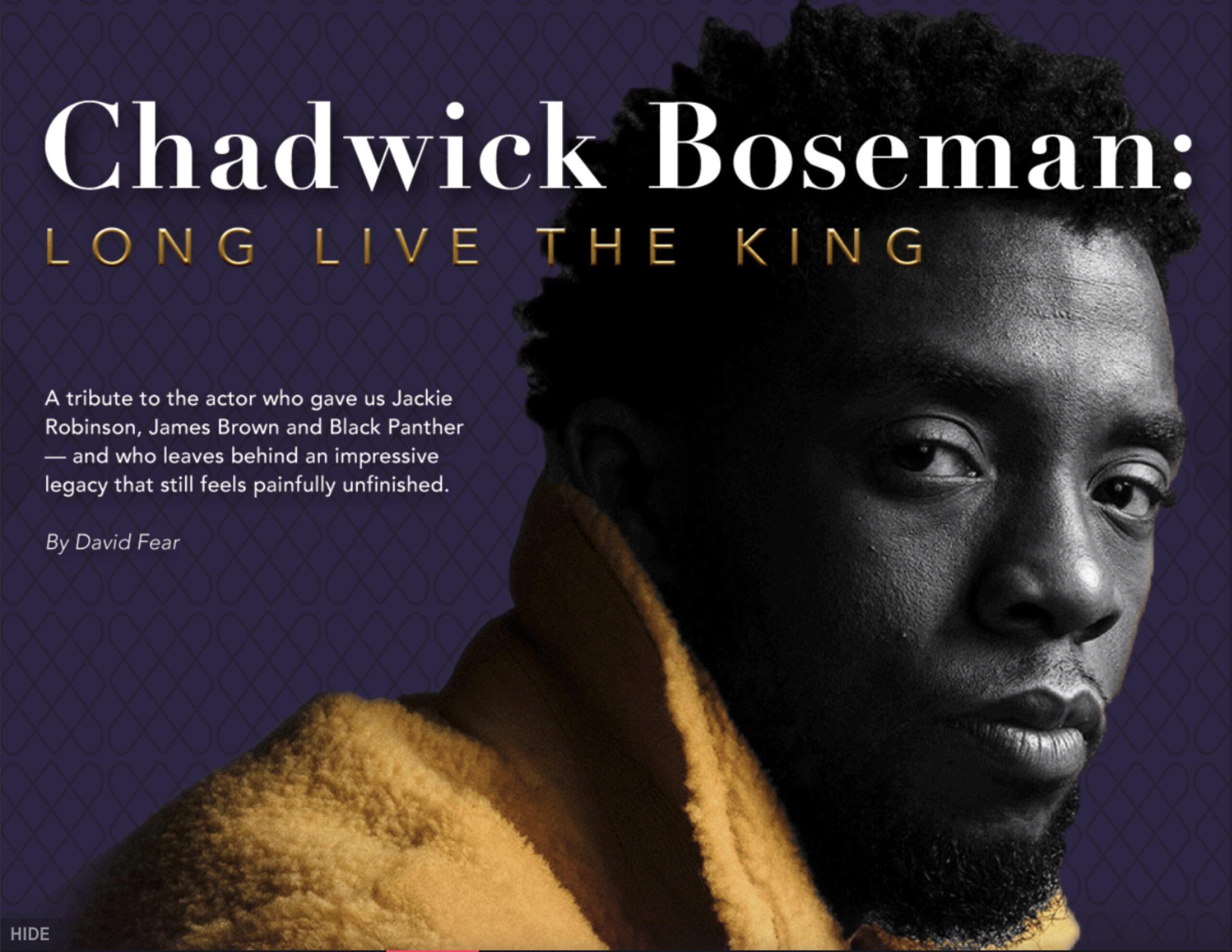 Chadwick Boseman Article